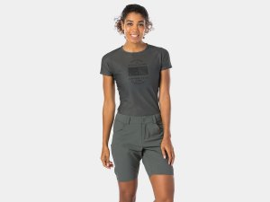 Bontrager Short Adventure Cycling Women XLarge Dnister Black